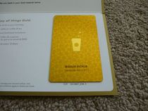 So my Starbucks Gold card arrived today