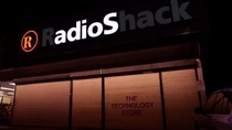 So our RadioShack is closing down