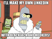So the University of Texas created a LinkedIn clone called HookedIn