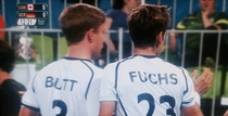 So there was a rather unfortunate team meeting during the Germany v Canada field hockey game today