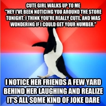 So this happened to me as I was grocery shopping tonight