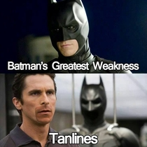 So this is why he does most of his crime fighting at night