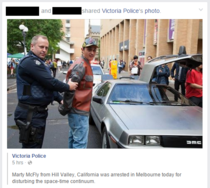So Victoria Police posted this today