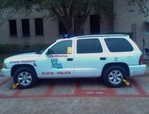 So your university gave a ticket to a state trooper Thats cute