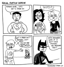 Social Justice League xpost from rcomicbooks