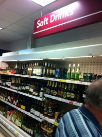 Soft drinks in Scotland