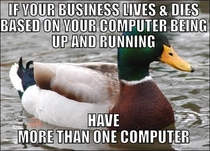 Solid advice to any small business owner