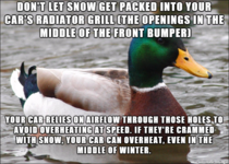 Some advice as youre clearing off your car