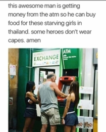 Some heros dont wear capes