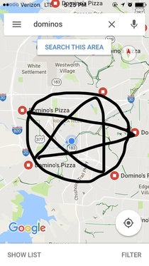 Some people say the pentagram protects my house from evil spirits