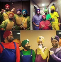 Some Sikh Halloween costumes