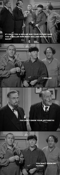 Some Three Stooges to lighten up your day