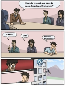 Some time ago at Volkswagen