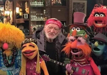 Somehow Willie Nelson looks the least stoned