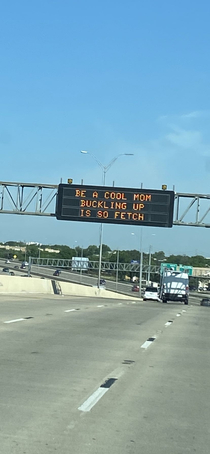 Someone at TxDOT mustve just watched Mean Girls