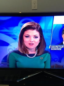 Someone from Star Trek has a part time job as a reporter
