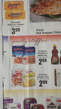Someone missed ONE LETTER in my local grocery stores ad and it made me laugh all day