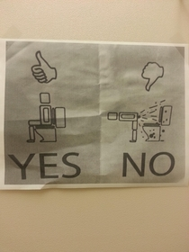 Someone posted this in the bathroom where I work