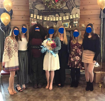 Someone took the Harry Potter theme of the bridal shower a bit too seriously