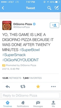 Someones had one too many over at DiGiorno