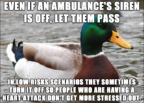 Something I learned when my dad had a mild heart attack  years ago