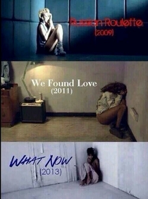 Something is seriously wrong with Rihanna she is always in a corner