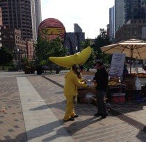 Sometimes you think whats this guy selling Not this guy this guy sells bananas