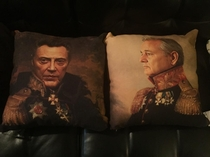 Soooo I bought some throw pillows today