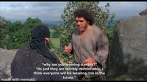 sorry if this has already been done im watching The Princess Bride it struck me hilarious