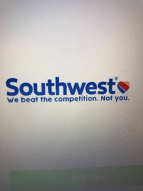 Southwest throwing shade at United