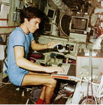 Soviet astronaut Sergei Krikalyov was in space when the Soviet Union fell apart in  He was not capable of returning and had to stay in space for few more months And one day he got a message Hello We have been trying to reach you a out your space ships ext