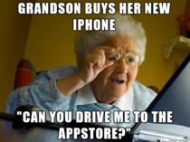 Speaking of grandmothers