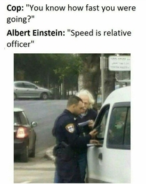 Speed is relative