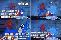 Spidey cant catch a break