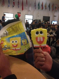 Spongebob ice cream