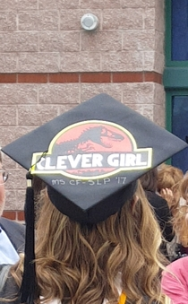 Spotted at my brothers graduation ceremony