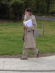 Spotted dumbledore at my university