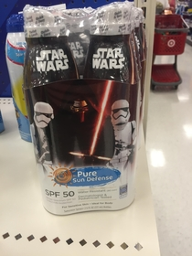 Star Wars Sunscreen so You Dont Join the Dark Side