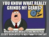 Starting to avoid some of the news sites