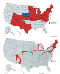 States vs Counties