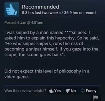 Steam reviews always deliver