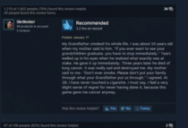 Steam reviews always need a little background