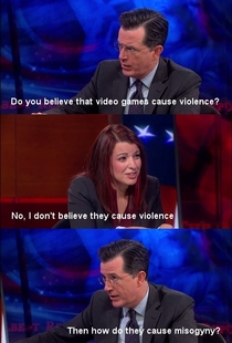 Stephen Colbert nails it in this unaired segment