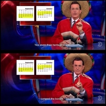 Stephen Colbert on Hispanic Heritage Month