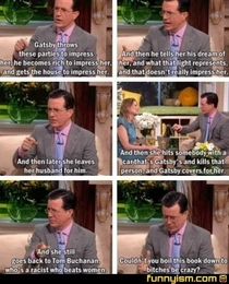 Stephen Colbert on The Great Gatsby