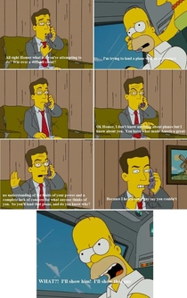 Stephen Colberts wise words to Homer