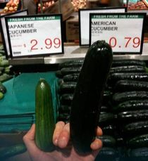Stereotypical Cucumbers