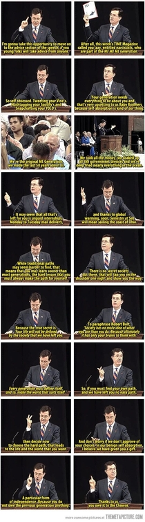 Steven Colbert is awesome