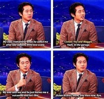 Steven Yeun and Fatherly Acceptance