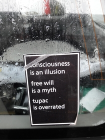 Sticker on my co-workers car